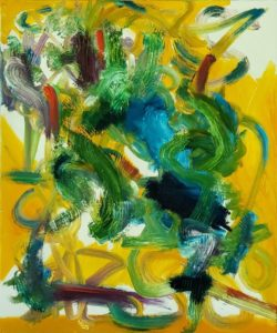 Abstract 25, Russell Steven Powell oil on canvas, 24×20