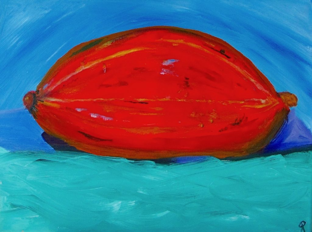 SQUASH, Russell Steven Powell oil on canvas, 16x20