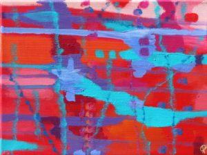 Florida Coast 2, Russell Steven Powell acrylic on canvas, 11×14